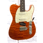 TOM ANDERSON TOP T CLASSIC HOLLOW - TRANSPARENT ORANGE