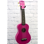 PANDA SOPRANO UKULELE - ROSE RED