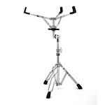 REBEL DOUBLE BRACED SNARE STAND - CHROME
