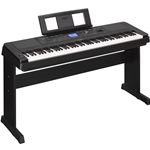 YAMAHA DGX660B PORTABLE GRAND PIANO