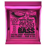 ERNIE BALL SUPER SLINKY NICKEL WOUND SHORT SCALE BASS STRINGS - 40-100 GAUGE