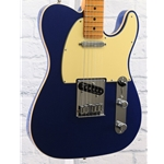FENDER USED 2019 AMERICAN ULTRA TELECASTER - COBRA BLUE