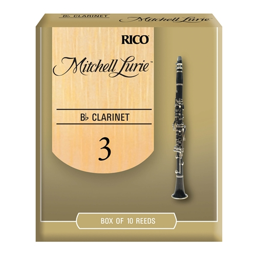 MITCHELL LURIE BB CLARINET REEDS 3.0, BOX OF 10