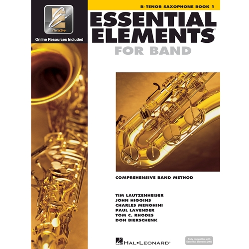 ESSENTIAL ELEMENTS 2000 TENOR SAX BOOK 1