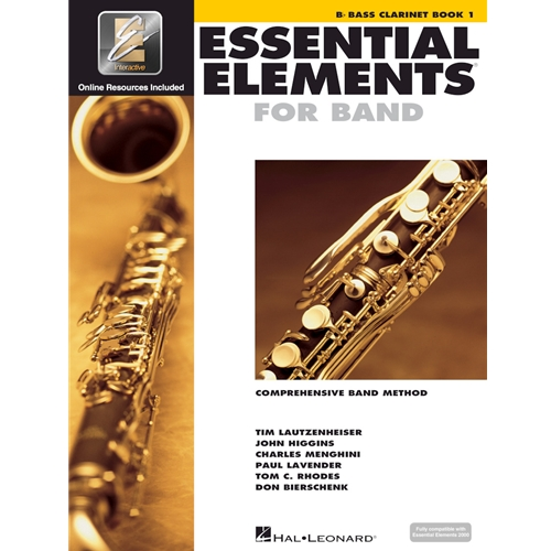 ESSENTIAL ELEMENTS 2000 BASS CLARINET BOOK 1