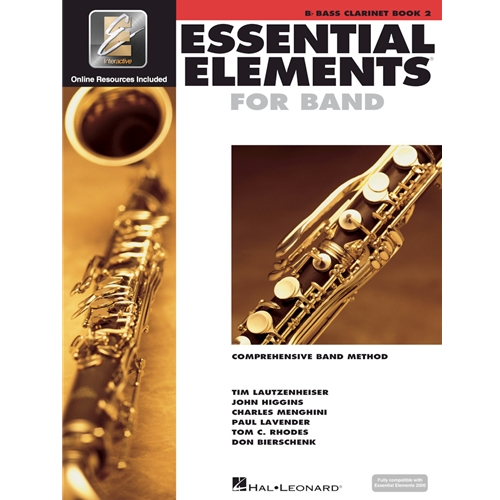 ESSENTIAL ELEMENTS 2000 BASS CLARINET BOOK 2