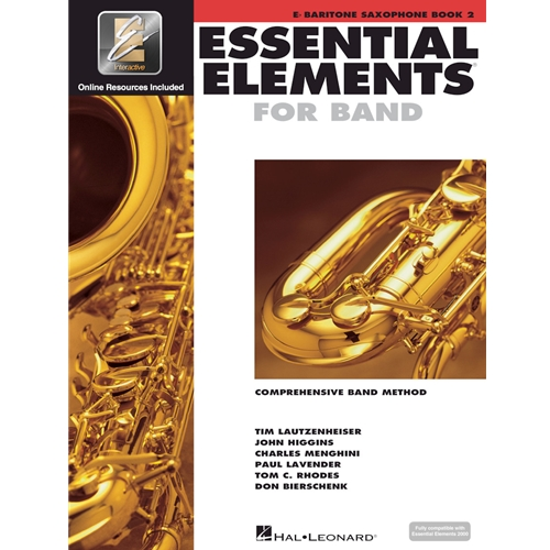 ESSENTIAL ELEMENTS 2000 BARITONE SAXOPHONE BOOK 2