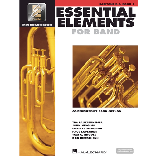 ESSENTIAL ELEMENTS 2000 BARITONE BC BOOK 2