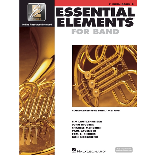 ESSENTIAL ELEMENTS 2000 FRENCH HORN BOOK 2
