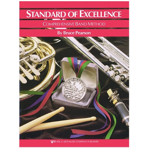 STANDARD OF EXCELLENCE BASS CLARINET BOOK 1