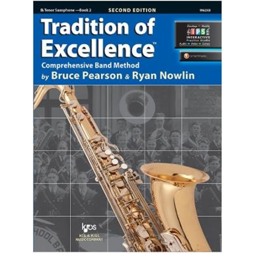 TRADITION OF EXCELLENCE TENOR SAX BOOK 2