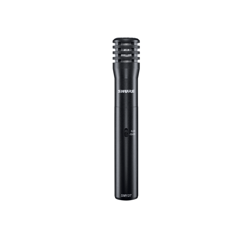 SHURE SM137 LC CARDIOID CONDENSER MICROPHONE