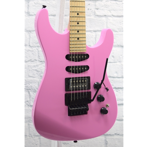 FENDER LIMITED EDITION HM STRAT - FLASH PINK