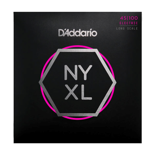 D'ADDARIO NYXL BASS 45-100 LONG SCALE LIGHT STRINGS