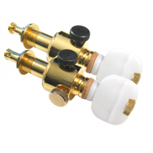 KEITH BANJO D TUNERS ONE PAIR, GOLD