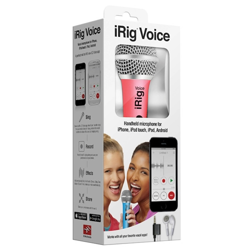 iRIG VOICE MICROPHONE