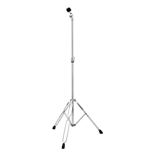 REBEL DOUBLE BRACED STRAIGHT CYMBAL STAND - CHROME