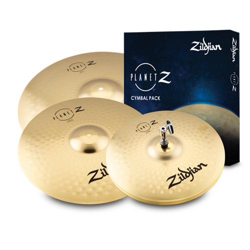 ZILDJIAN PLANET Z CYMBAL PACK  (14/16/20)