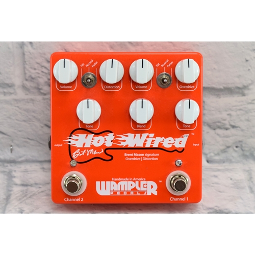 WAMPLER USED HOT WIRED PEDAL